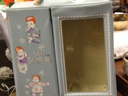 Tiny Thumbelina doll case